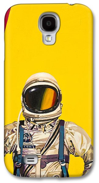 Space Paintings Galaxy S4 Cases - One Golden Arch Galaxy S4 Case by Scott Listfield
