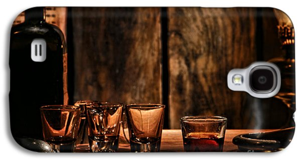 Whisky Galaxy S4 Cases - One Last Drink Galaxy S4 Case by Olivier Le Queinec