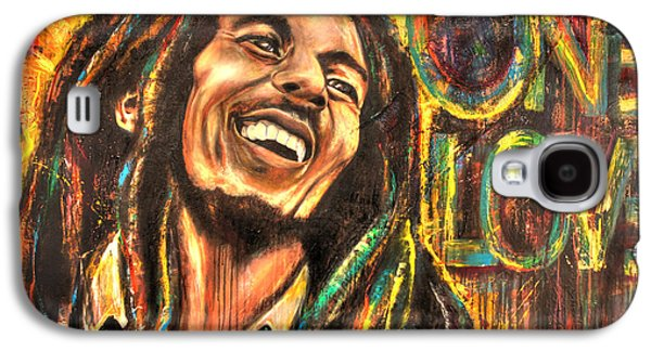 One Love Galaxy S4 Case by Robyn Chance