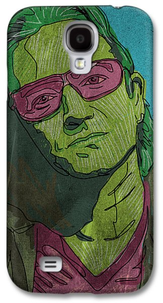 Bono Paintings Galaxy S4 Cases - One Galaxy S4 Case by Mike Brennan