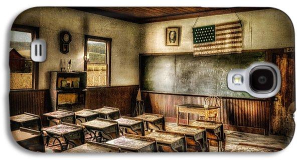 One Room School Galaxy S4 Case by Lois Bryan