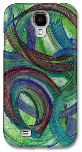 Thought Drawings Galaxy S4 Cases - One Stupendous Whole Galaxy S4 Case by Kelly K H B