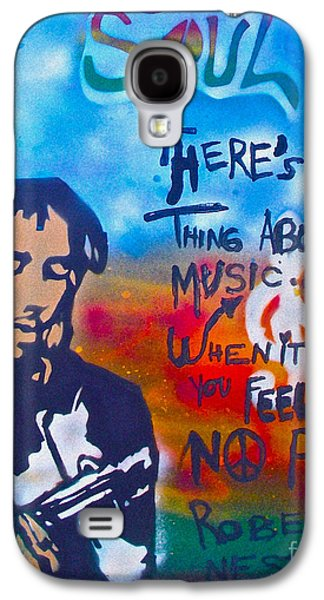 Free Speech Galaxy S4 Cases - One Thing About Music Galaxy S4 Case by Tony B Conscious