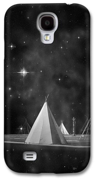 Star Of Bethlehem Galaxy S4 Cases - One Tribe bw Galaxy S4 Case by Laura  Fasulo