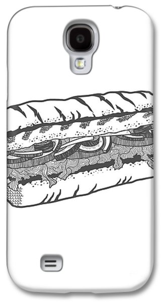 Hand Drawn Galaxy S4 Cases - One veg for me please Galaxy S4 Case by Freshinkstain