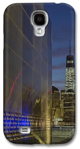 Freedom Galaxy S4 Cases - One World Trade Center At Dawn Galaxy S4 Case by Susan Candelario