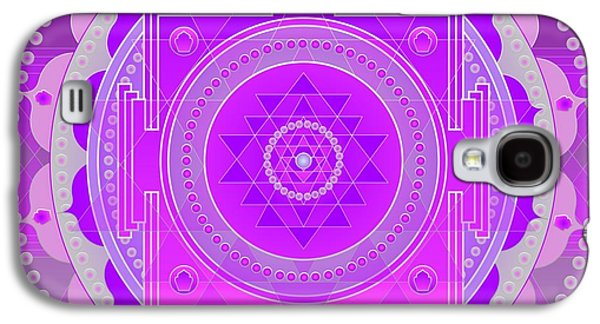 Greeting Cards For Cancer Galaxy S4 Cases - Oneness and Unity Galaxy S4 Case by Sarah  Niebank