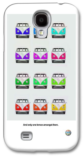 Vw Beetle Galaxy S4 Cases - Only One Lemon Galaxy S4 Case by Mark Rogan