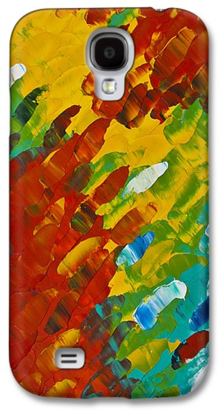 Only Till Eternity 2nd Panel Galaxy S4 Case by Sharon Cummings