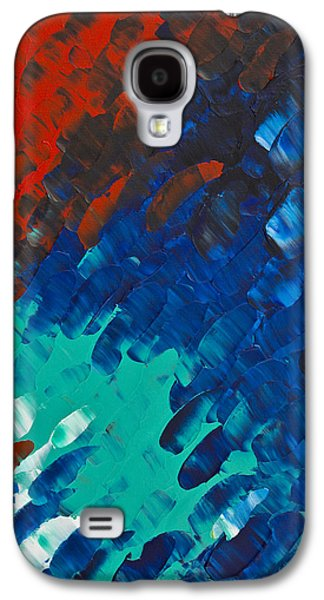 Only Till Eternity 3rd Panel Galaxy S4 Case by Sharon Cummings