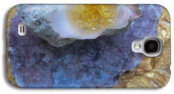 Light Reliefs Galaxy S4 Cases - Opal times II Galaxy S4 Case by Heidi Sieber