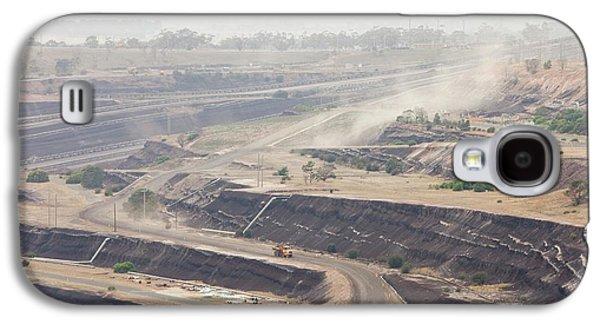 Open Cast Coal Mine Galaxy S4 Case by Ashley Cooper