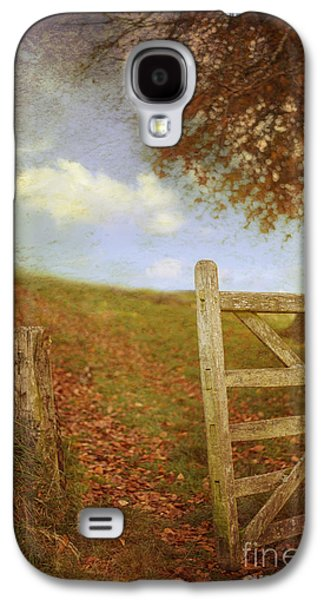 Open Photographs Galaxy S4 Cases - Open Country Gate Galaxy S4 Case by Amanda And Christopher Elwell