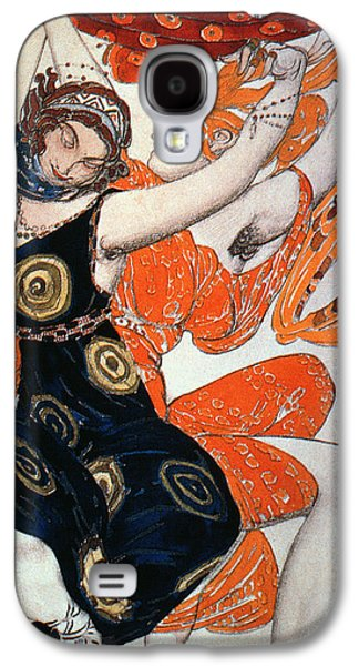 Dress Photographs Galaxy S4 Cases - Operatic Costume Designs, 1911 Colour Litho Galaxy S4 Case by Leon Bakst