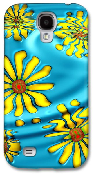 Art166 Galaxy S4 Cases - Ophelias Daisies Galaxy S4 Case by Wendy J St Christopher
