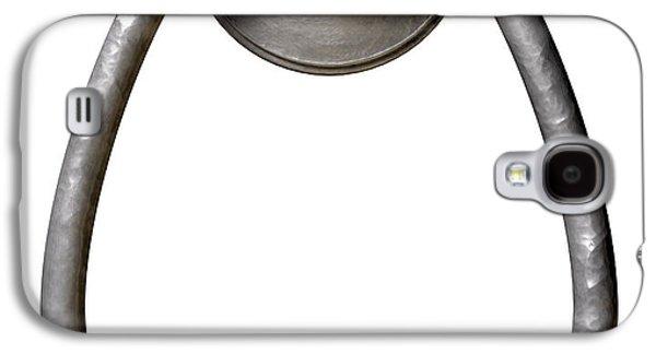 Mechanism Digital Art Galaxy S4 Cases - Opportunity Knocks Door Knocker Galaxy S4 Case by Allan Swart