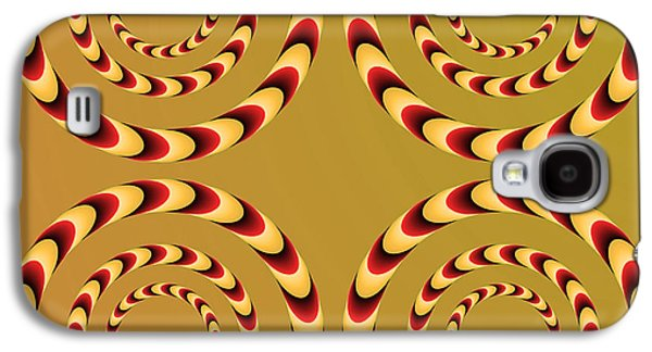 Optical Ilusions Summer Spin Galaxy S4 Case by Sumit Mehndiratta