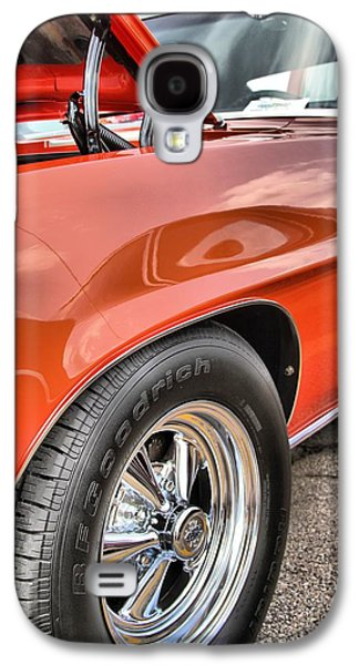 Dukes Of Hazard Show Galaxy S4 Cases - Orange Chevelle SS 396 Galaxy S4 Case by Dan Sproul