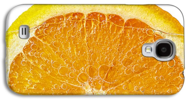 Orange Photographs Galaxy S4 Cases - Orange in water Galaxy S4 Case by Elena Elisseeva