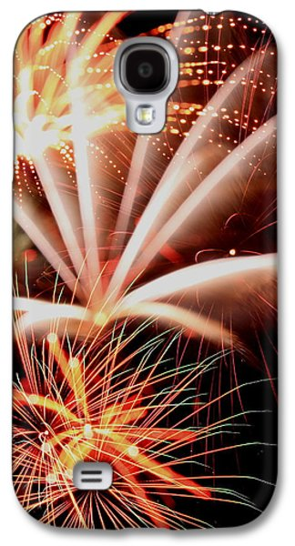 4th July Galaxy S4 Cases - Orange Marmalade  Galaxy S4 Case by David Dufresne