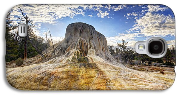 Mounds Galaxy S4 Cases - Orange Spring Mound Galaxy S4 Case by Mark Kiver