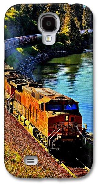 Idaho Photographs Galaxy S4 Cases - Orange Workhorse Galaxy S4 Case by Benjamin Yeager