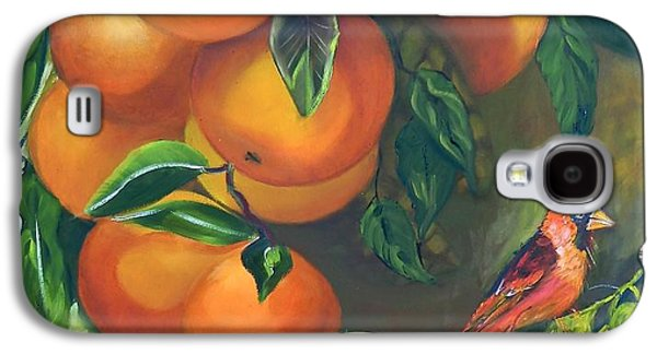 Boardroom Mixed Media Galaxy S4 Cases - Oranges and Lemons Galaxy S4 Case by Susan Robinson