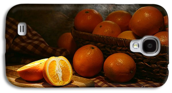Orange Photographs Galaxy S4 Cases - Oranges Galaxy S4 Case by Olivier Le Queinec