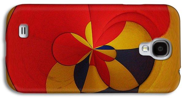 Abstract Digital Art Galaxy S4 Cases - Orb 9 Galaxy S4 Case by Elena Nosyreva