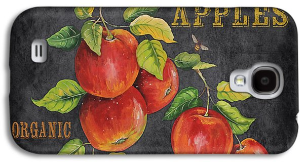 Locally Grown Galaxy S4 Cases - Orchard Fresh Apples-JP2638 Galaxy S4 Case by Jean Plout