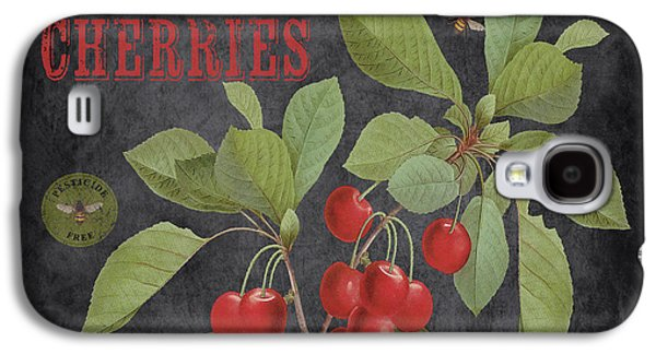 Locally Grown Galaxy S4 Cases - Orchard Fresh Cherries-JP2639 Galaxy S4 Case by Jean Plout