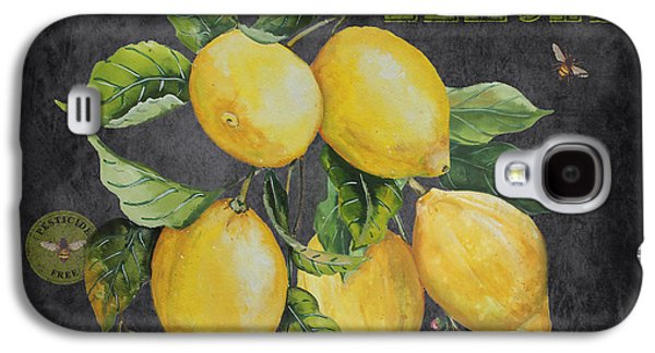 Locally Grown Galaxy S4 Cases - Orchard Fresh Lemons-JP2679 Galaxy S4 Case by Jean Plout