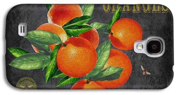 Locally Grown Galaxy S4 Cases - Orchard Fresh Oranges-JP2641 Galaxy S4 Case by Jean Plout