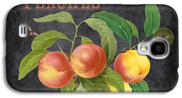 Locally Grown Galaxy S4 Cases - Orchard Fresh Peaches-JP2640 Galaxy S4 Case by Jean Plout