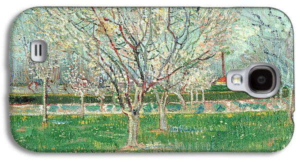 Orchard In Blossom, 1880  Galaxy S4 Case by Vincent van Gogh