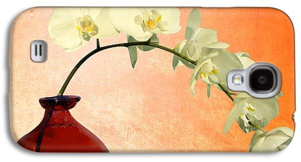 Orsillo Galaxy S4 Cases - Orchids 2 Galaxy S4 Case by Mark Ashkenazi