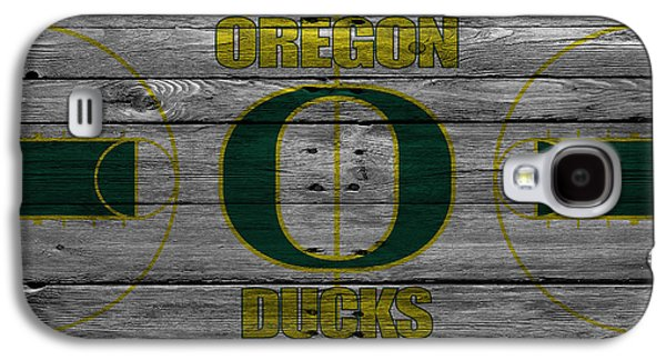Dunk Galaxy S4 Cases - Oregon Ducks Galaxy S4 Case by Joe Hamilton