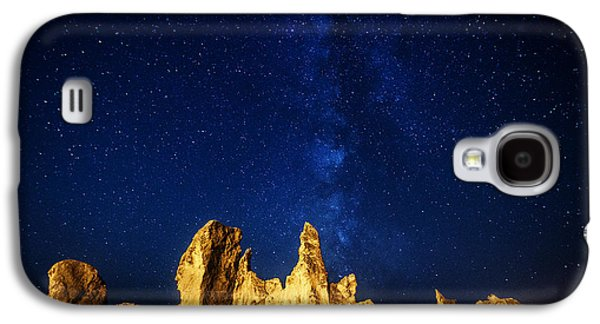 Landscape Acrylic Prints Galaxy S4 Cases - Oregon Nights Galaxy S4 Case by Darren  White