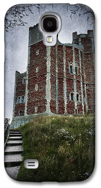 Creepy Digital Art Galaxy S4 Cases - Orford Castle Galaxy S4 Case by Svetlana Sewell