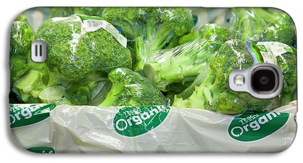 Organic Broccoli For Sale Galaxy S4 Case by Ashley Cooper