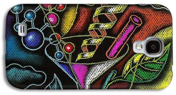 Change Paintings Galaxy S4 Cases - Organic Food Galaxy S4 Case by Leon Zernitsky