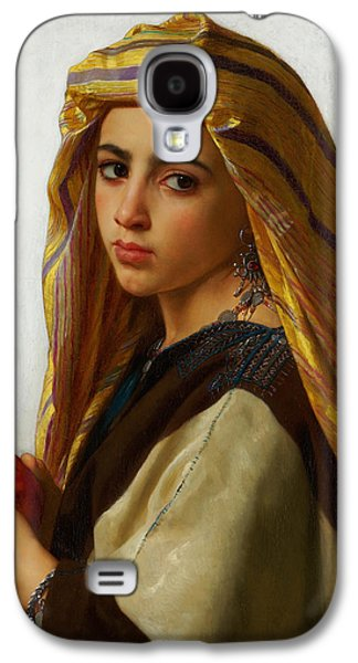 Gerome Galaxy S4 Cases - Oriental Girl Galaxy S4 Case by Gerome