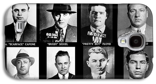Poster Galaxy S4 Cases - Original Gangsters - Public Enemies Galaxy S4 Case by Paul Ward
