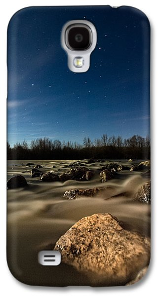 Moonscape Galaxy S4 Cases - Orion Galaxy S4 Case by Davorin Mance