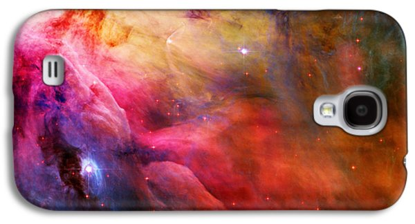 Galactic Paintings Galaxy S4 Cases - Orion Nebula Galaxy S4 Case by Celestial Images