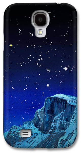 Constellations Paintings Galaxy S4 Cases - Orion Over Halfdome Galaxy S4 Case by Douglas Castleman