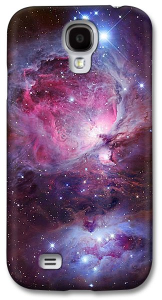 Galactic Paintings Galaxy S4 Cases - Orion Sword Galaxy S4 Case by Celestial Images