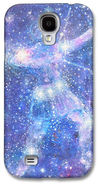 Constellations Paintings Galaxy S4 Cases - Orions Belt Galaxy S4 Case by Ashleigh Dyan Bayer
