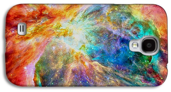 Jet Star Galaxy S4 Cases - Orions heart rectangular format Galaxy S4 Case by Eti Reid