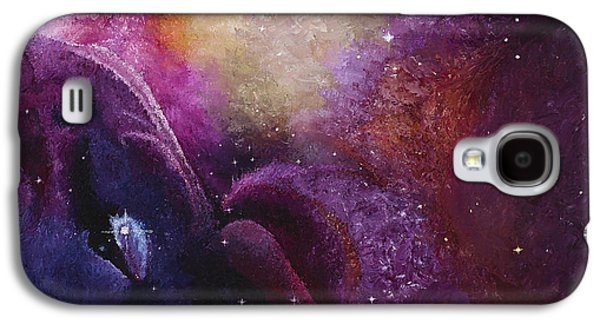 Best Sellers -  - Constellations Paintings Galaxy S4 Cases - Cosmos Orions Nebula  Galaxy S4 Case by Karen Balon